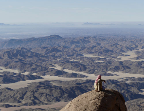You can now hike the Red Sea Mountain Trail in Egypt